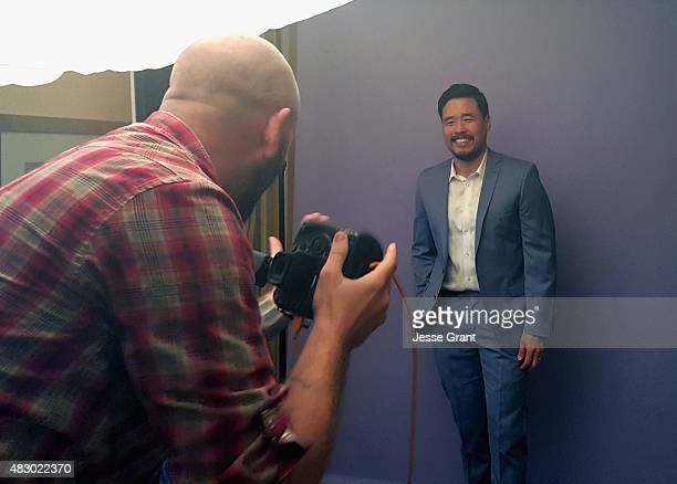 Actor Randall Park of ABC's 'Fresh Off The Boat' attends the Getty Images Portrait Studio powered by Samsung Galaxy at 2015 Summer TCA's at The...