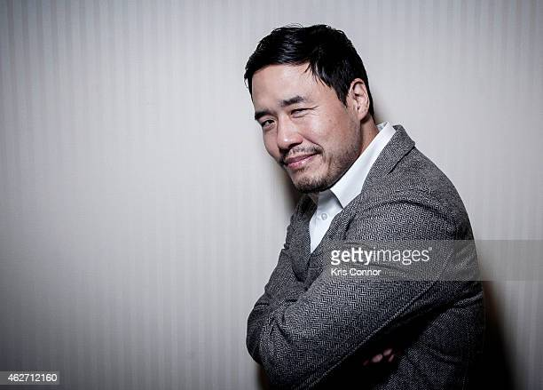 Actor Randall Park poses for a portrait on January 21 2015 at the National Press Club in Washington DC