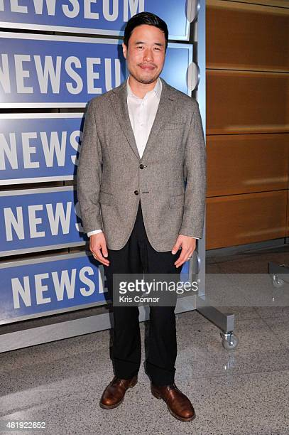 Actor Randall Park poses for photos during the Fresh Off The Boat Washington DC Screening at The Newseum on January 21 in Washington DC