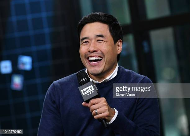 Actor Randall Park visits Build Series to discuss ABC's TV show Fresh Off The Boat at Build Studio on September 28 2018 in New York City