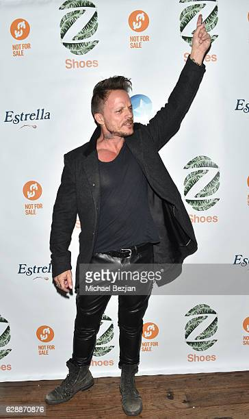 Actor Randall Slavin arrives at Not For Sale x Z Shoes Benefit at Estrella Sunset on December 9, 2016 in West Hollywood, California.