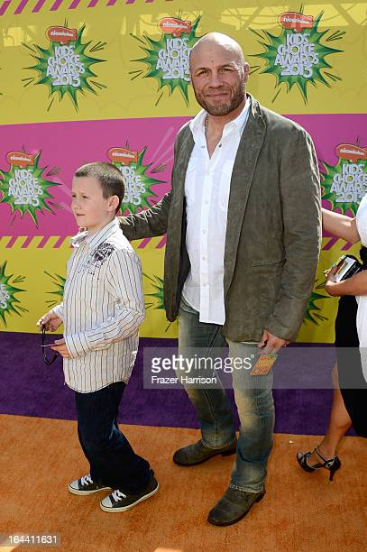 Photo of Randy Couture  & his  Son  Caden Couture