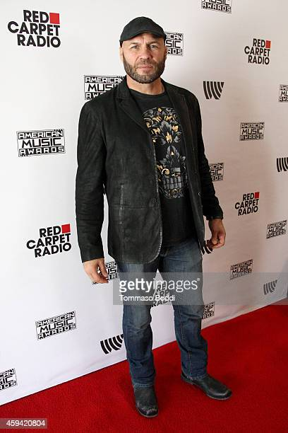 Actor Randy Couture attends Red Carpet Radio presented by Westwood One at Nokia Theatre LA Live on November 22 2014 in Los Angeles California
