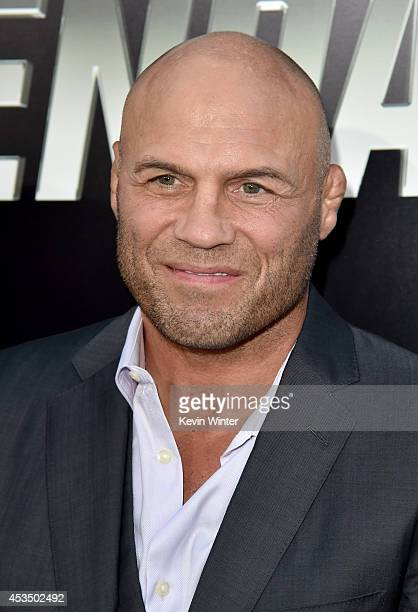Actor Randy Couture attends the premiere of Lionsgate Films' 'The Expendables 3' at TCL Chinese Theatre on August 11 2014 in Hollywood California
