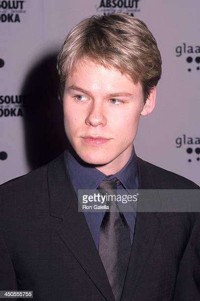 Actor Randy Harrison attends the 12th Annual GLAAD Media Awards on April 16 2001 at the New York Hilton Hotel in New York City