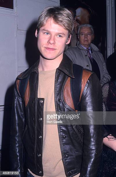 Actor Randy Harrison attends the 'Private Lives' Broadway Play Opening Night on April 28 2002 at the Richard Rodgers Theatres in New York City