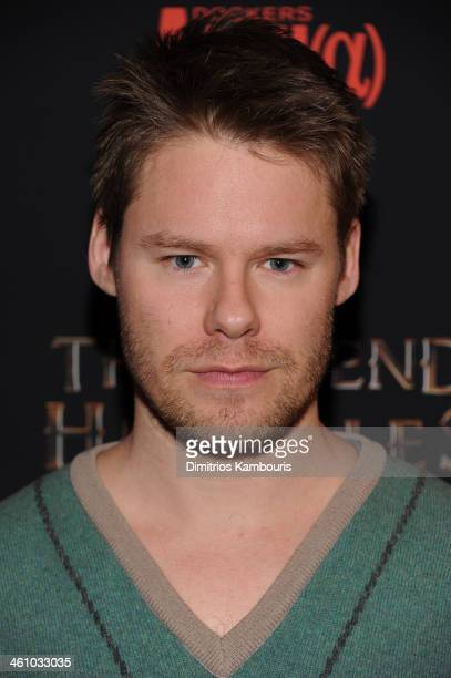 Actor Randy Harrison attends the The Legend Of Hercules premiere at the Crosby Street Hotel on January 6 2014 in New York City