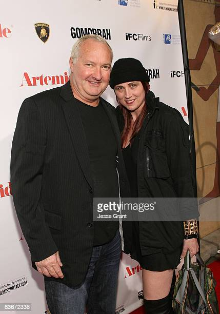 Actor Randy Quaid and Evi Quaid attend the American Cinematheque's screening of Gomorrah sponsored by Artemide and Lamborghini held at The Egyptian...