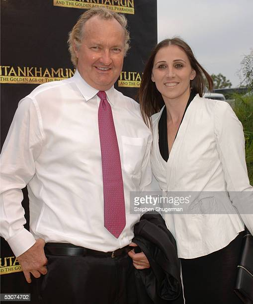 Actor Randy Quaid and Evi Quaid attend 'Tutankhamun And The Golden Age Of  The Pharaohs