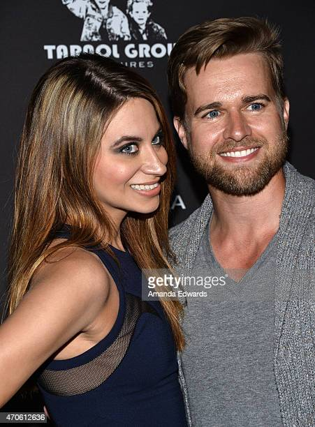 """Actor Randy Wayne and Steff Alyce arrive at the Los Angeles premiere of """"See You In Valhalla"""" at the ArcLight Cinemas on April 21, 2015 in Hollywood,..."""