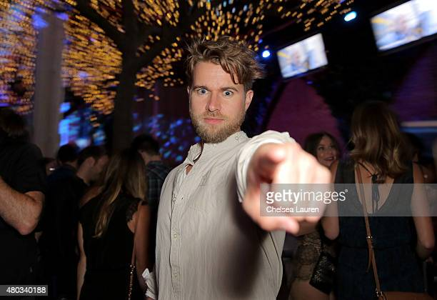 Actor Randy Wayne attends Playboy and Gramercy Pictures' Self/less party during ComicCon weekend at Parq Restaurant Nightclub on July 10 2015 in San...