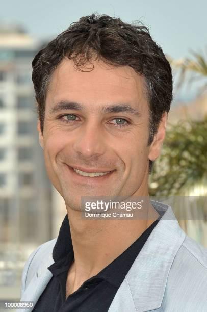Actor Raoul Bova attends the 'Our Life' Photo Call held at the Palais des Festivals during the 63rd Annual International Cannes Film Festival on May...