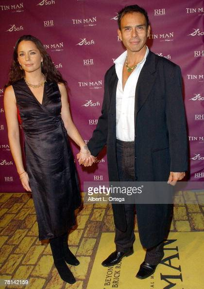 Actor Raoul Trujillo and wife Iscah arrive for the Los