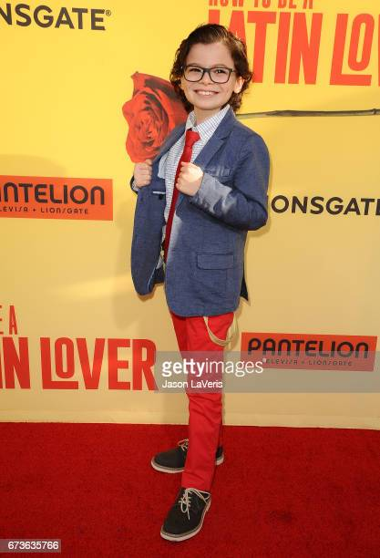 Actor Raphael Alejandro attends the premiere of 'How to Be a Latin Lover' at ArcLight Cinemas Cinerama Dome on April 26 2017 in Hollywood California