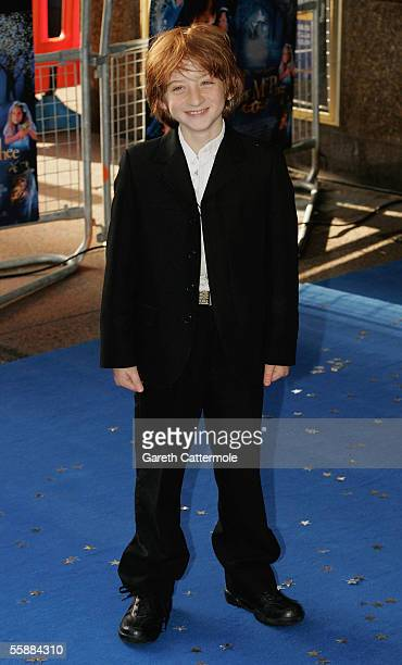 Actor Raphael Coleman arrives at the The World Charity Premiere of Nanny McPhee in aid of The Refugee Council at the UCI Empire Leicester Square on...