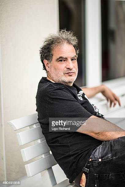 Actor Raphael Mezrahi is photographed for Self Assignment on August 31 2015 in Angouleme France