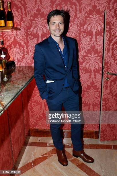 Actor Raphael Personnaz attends the Laperouse Mask Ball on the occasion of the inauguration evening of the Laperouse Restaurant as part of Paris...