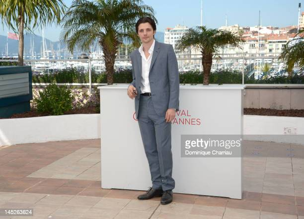 Actor Raphael Personnaz poses at the Trois Mondes photocall during the 65th Annual Cannes Film Festival at Palais des Festivals on May 25 2012 in...