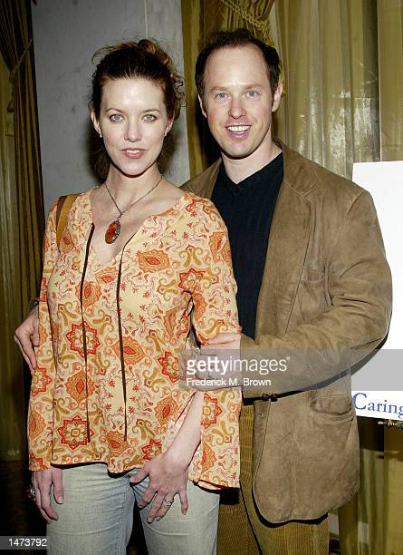 Actor Raphael Sbarge and his wife Lisa Akey attend the 2002 Lullabies and Luxuries Fashion Event at the Regent Beverly Wilshire Hotel on October13...