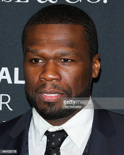 Actor / Rapper Curtis Jackson attends the Paley Center For Media's Tribute To AfricanAmerican Achievements In Television at the Beverly Wilshire Four...