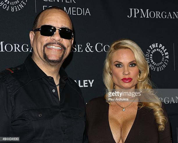 Actor / Rapper IceT and Reality TV Personality Coco Austin attend the Paley Center For Media's Tribute To AfricanAmerican Achievements In Television...