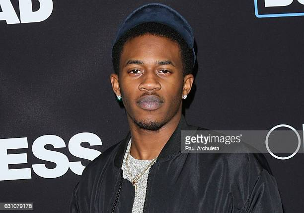 Actor / Rapper Malcolm David Kelley attends the premiere of Sleepless at the Regal LA Live Stadium 14 on January 5 2017 in Los Angeles California