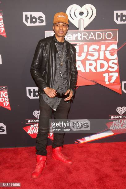 Actor Rashaad Dunn attends the 2017 iHeartRadio Music Awards which broadcast live on Turner's TBS TNT and truTV at The Forum on March 5 2017 in...