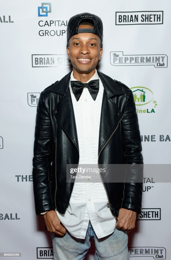 Actor Rashad Dunn attends The Imagine Ball at The Peppermint Club on October 12, 2017 in Los Angeles, California.