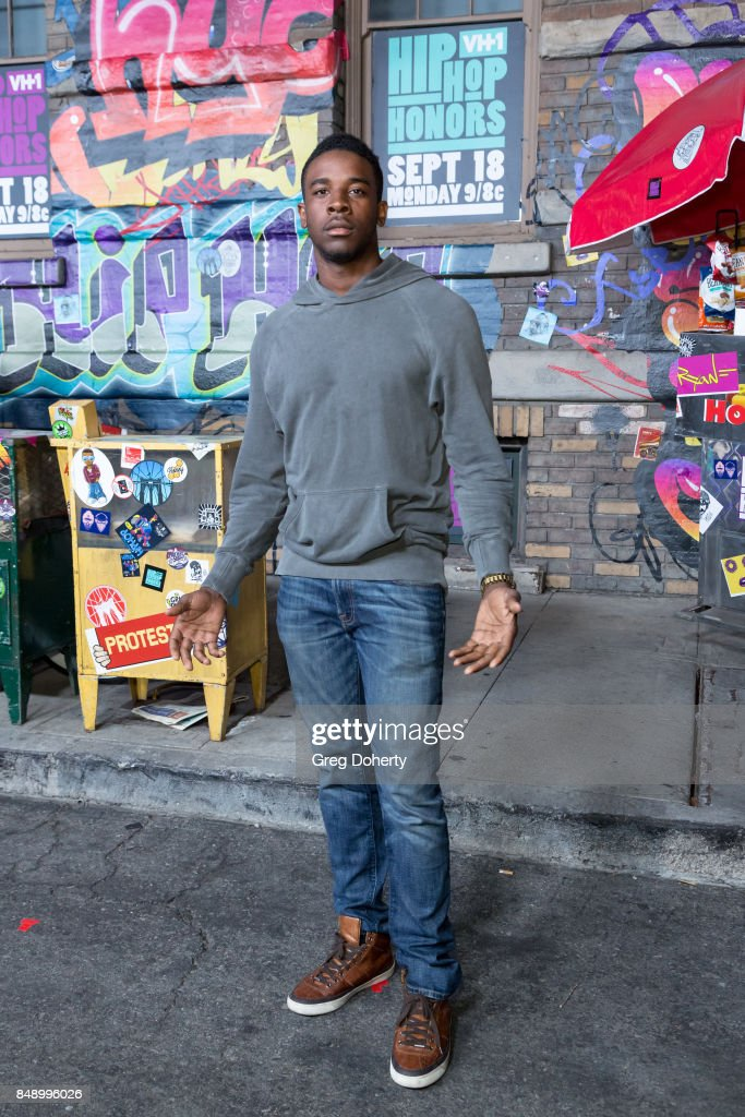 Actor Rashad Scroggins arrives for VH1's Hip Hop Honors: The 90's Game Changers at Paramount Studios on September 17, 2017 in Hollywood, California.