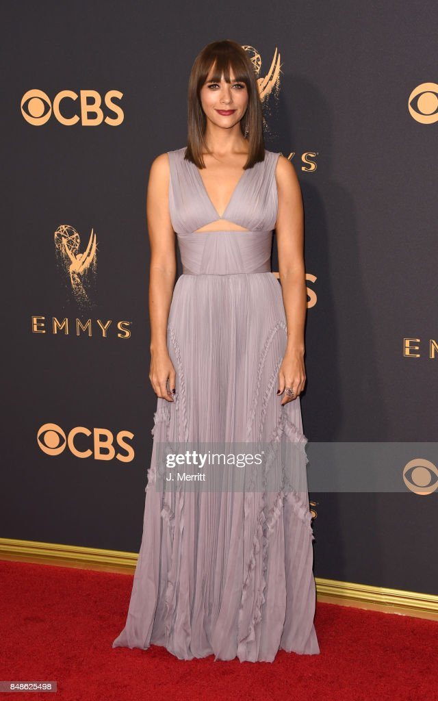 Actor Rashida Jones attends the 69th Annual Primetime Emmy Awards at Microsoft Theater on September 17, 2017 in Los Angeles, California.