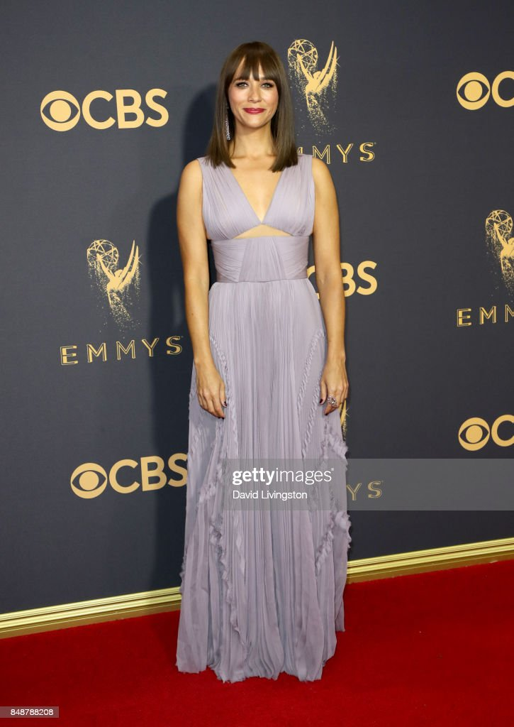 Actor Rashida Jones attends the 69th Annual Primetime Emmy Awards - Arrivals at Microsoft Theater on September 17, 2017 in Los Angeles, California.