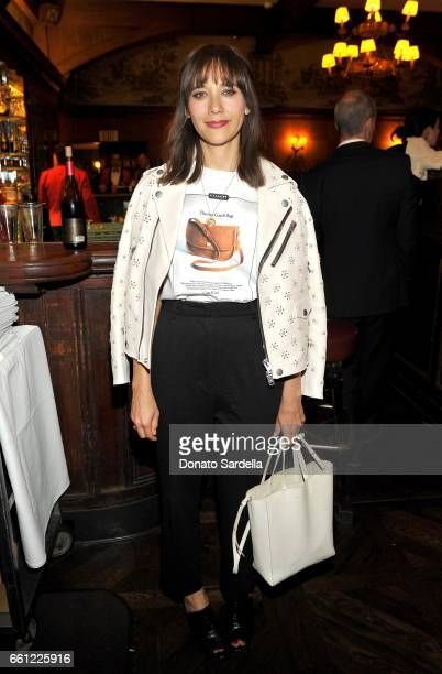 Actor Rashida Jones attends the Coach Rodarte celebration for their Spring 2017 Collaboration at Musso Frank on March 30 2017 in Hollywood California