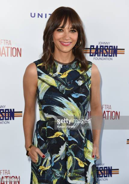 Actor Rashida Jones attends the SAG-AFTRA Foundation 8th Annual L.A. Golf Classic Fundraiser at Lakeside Golf Club on June 12, 2017 in Los Angeles,...