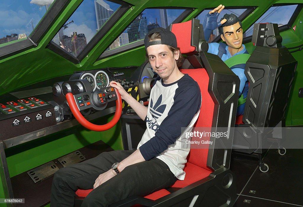 Actor Rasmus Hardiker of 'Thunderbirds are Go' attends the Amazon Village at San Diego Comic-Con at San Diego Convention Center on July 21, 2016 in San Diego, California.