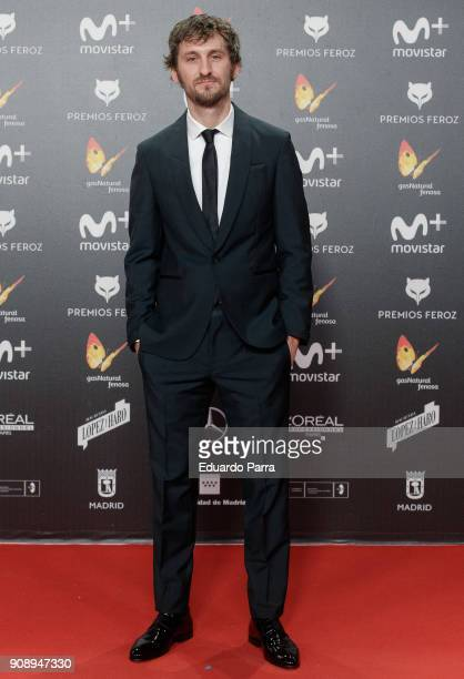 Actor Raul Arevalo attends Feroz Awards 2018 at Magarinos Complex on January 22 2018 in Madrid Spain