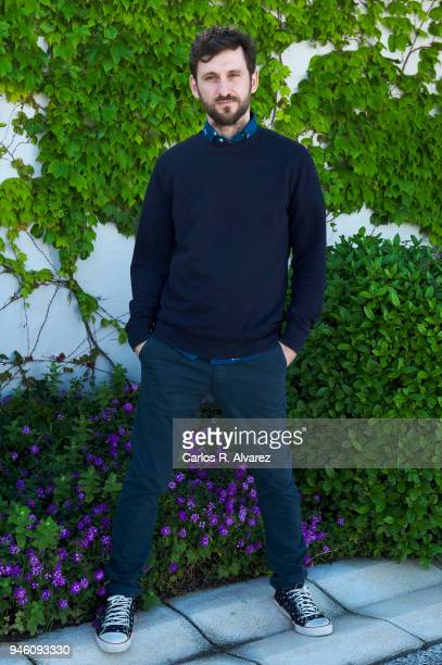 Actor Raul Arevalo attends 'Memorias de un Hombre en Pijama' photocall during the 21th Malaga Film Festival on April 14 2018 in Malaga Spain