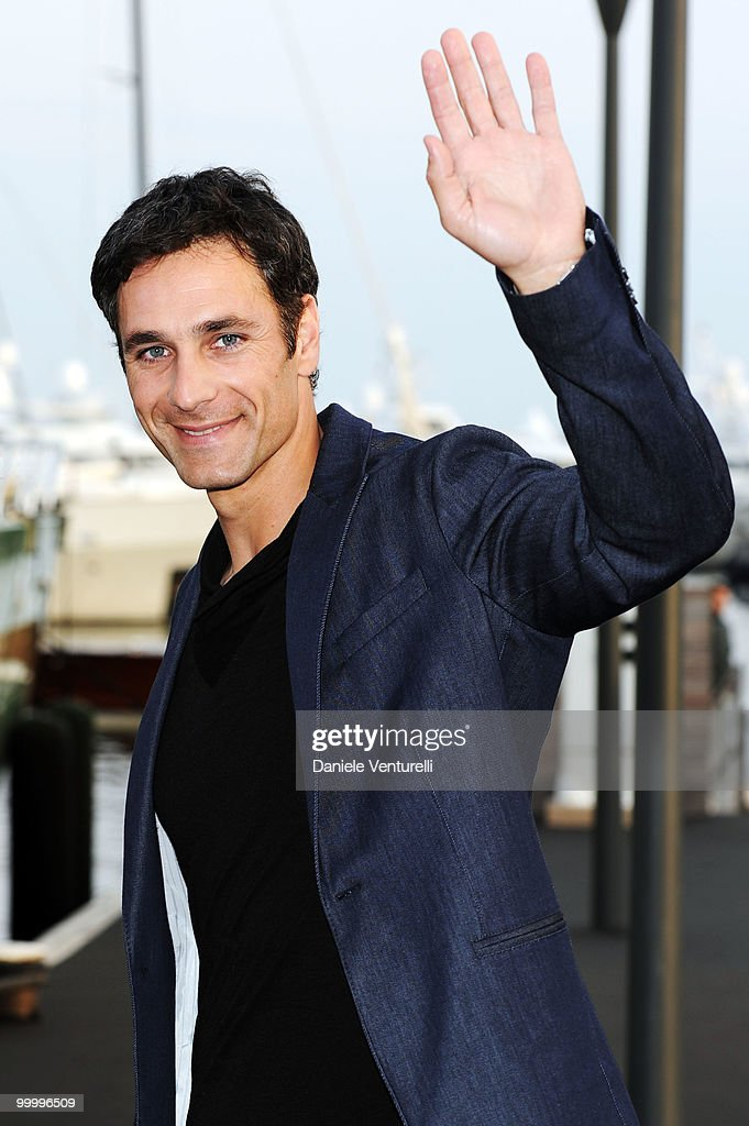 Actor Raul Bova attends the Fair Game Cocktail Party hosted by Giorgio Armani held aboard his boat 'Main' during the 63rd Annual International Cannes Film Festival on May 19, 2010 in Cannes, France.