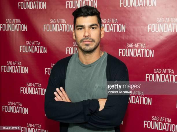 Actor Raul Castillo attends SAGAFTRA Foundation Conversations screening of 'We The Animals' at SAGAFTRA Foundation Screening Room on September 19...