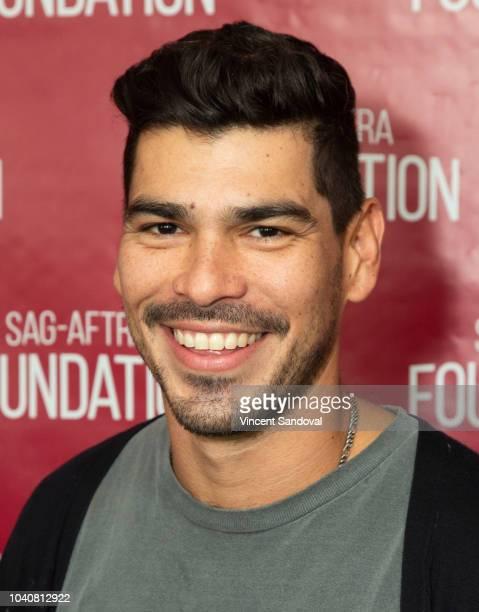 Actor Raul Castillo attends SAGAFTRA Foundation Conversations screening of We The Animals at SAGAFTRA Foundation Screening Room on September 19 2018...