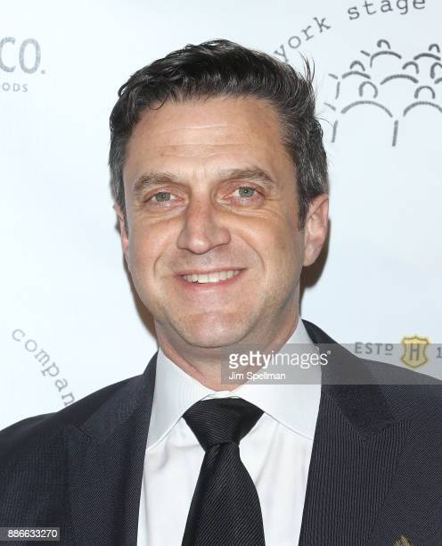 Actor Raul Esparza attends the 2017 New York Stage and Film Winter Gala at Pier Sixty at Chelsea Piers on December 5 2017 in New York City