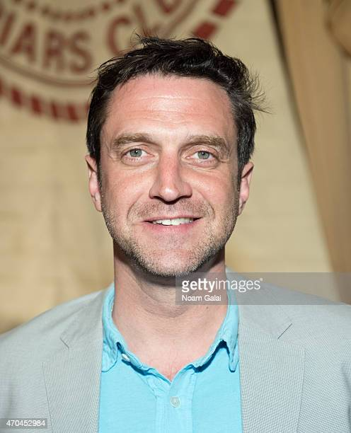 Actor Raul Esparza attends the 65th Annual Outer Critics Circle 201415 Award Nominations at The Friars Club on April 20 2015 in New York City