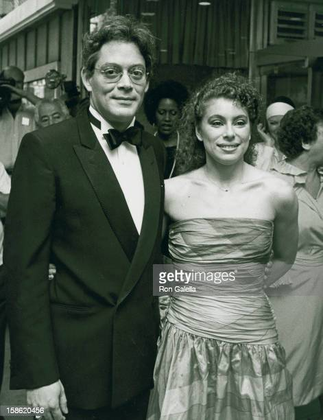 Actor Raul Julia and wife Merel Poloway attend the premiere party for Tempest on August 8 1982 at the South Street Seaport in New York City