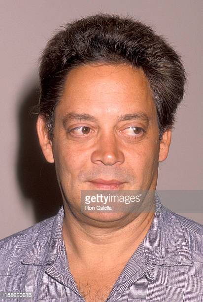 Actor Raul Julia attends the Press Conference for The Children's Bill of Rights on August 2 1990 at Hollywood Roosevelt Hotel in Hollywood California