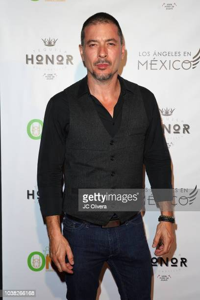 Francis Bertrand attends Los Angeles En Mexico at Casita Hollywood on September 22 2018 in Los Angeles California