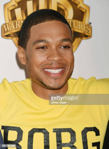 Actor Ray Fisher arrives at the CinemaCon 2017 Warner Bros Pictures presentation of their upcoming slate of films at The Colosseum at Caesars Palace...