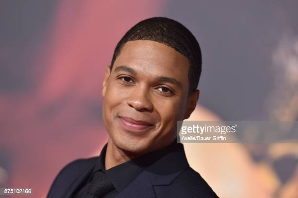 Actor Ray Fisher arrives at the premiere of Warner Bros Pictures' 'Justice League' at Dolby Theatre on November 13 2017 in Hollywood California