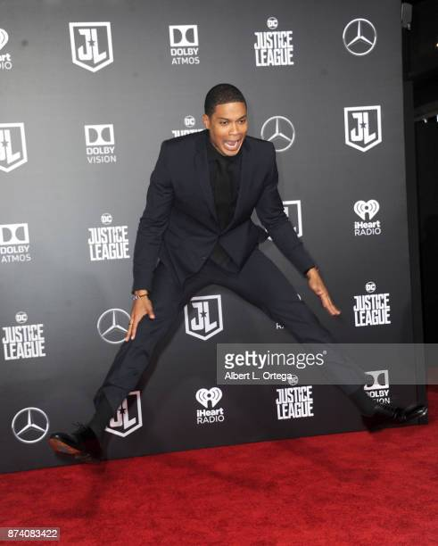 Actor Ray Fisher arrives for the Premiere Of Warner Bros Pictures' 'Justice League' held at Dolby Theatre on November 13 2017 in Hollywood California