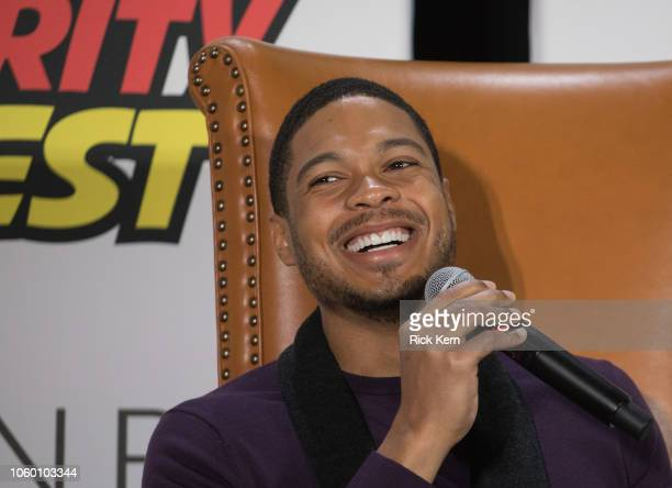 Ray Fisher Actor Stock Photos And Pictures Getty Images