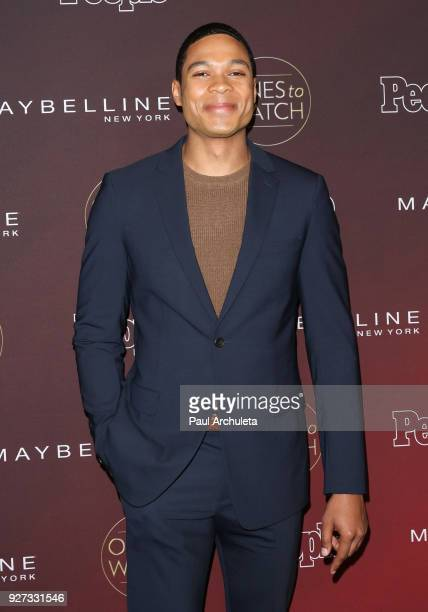 Actor Ray Fisher attends People's 'Ones To Watch' party at NeueHouse Hollywood on October 4 2017 in Los Angeles California
