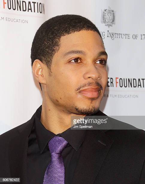 Actor Ray Fisher attends the Arthur Miller One Night 100 Years Benefit at Lyceum Theatre on January 25 2016 in New York City